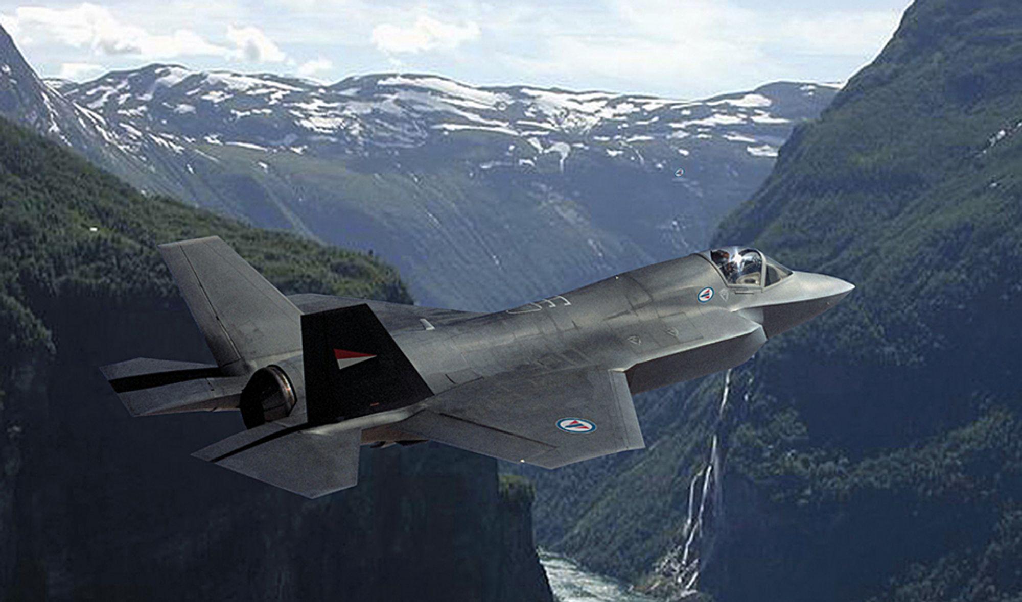 Når F-35 tidligst kan fly blant norske fjell og fjorder, vil kampflyet fortsatt være i testfasen.