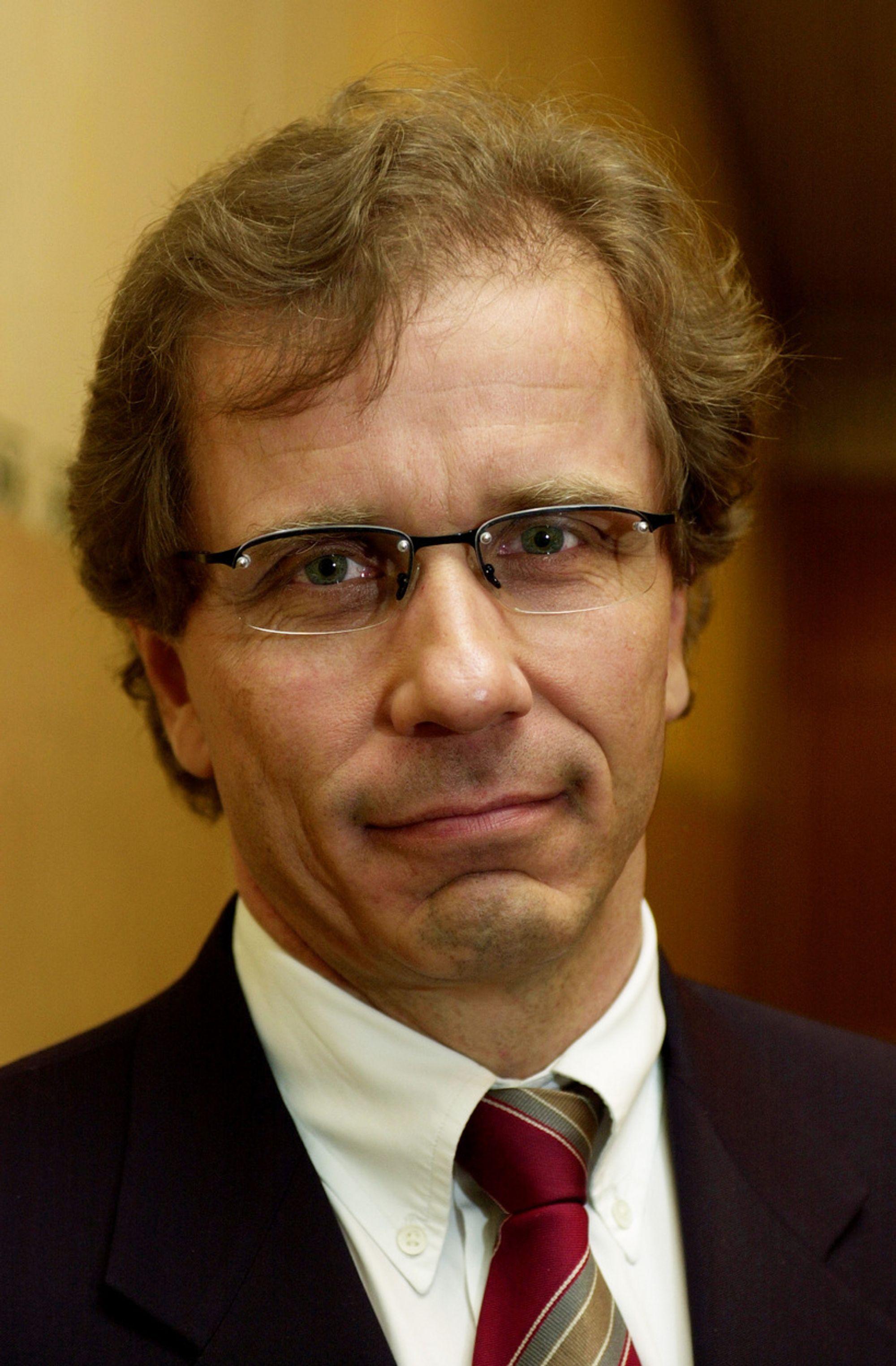TAR STOLEN: Otto Søberg skifter fra å være styreleder til konsernsjef i Grenland Group.