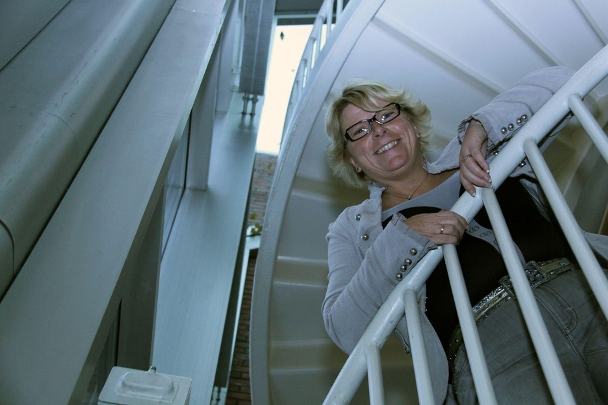 LEDER: Inger-Mette Gustavsen har ledet prosjektet om å ta vare på data selv om både programvare og teknologier endres.