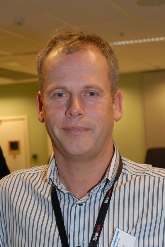Direktør ved Statnetts avdeling for systemdrift, Tom Tellefsen.