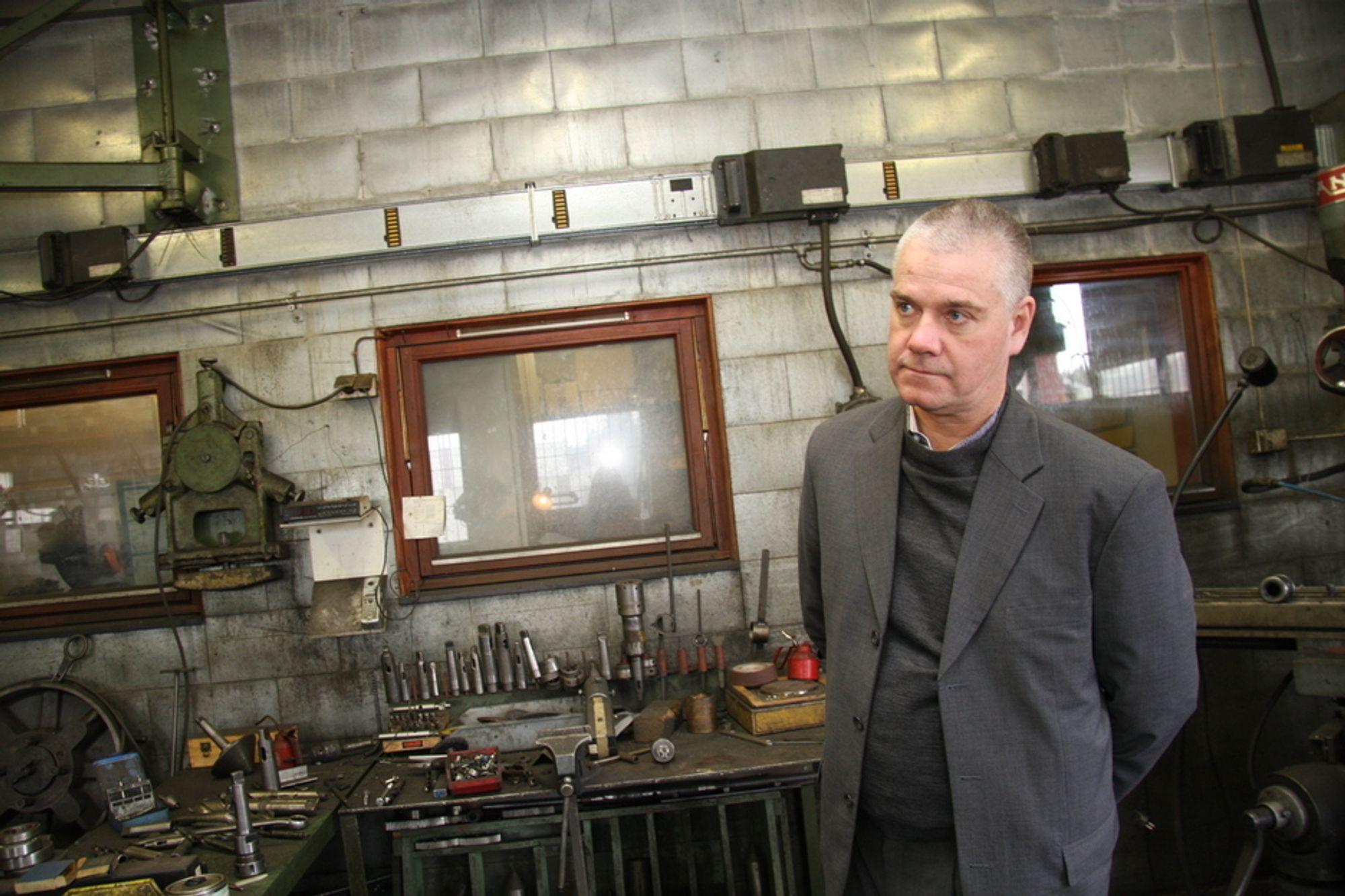 3c2ab952a48 MEGLER: Micke Bernakiewicz startet sitt eget bedriftsmeglingsselskap for  tre år siden. Nå har han