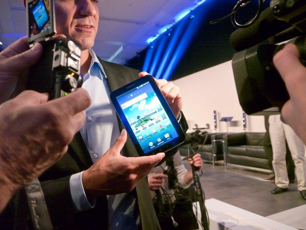 UTFORDRER: Samsung Galaxy Tab.