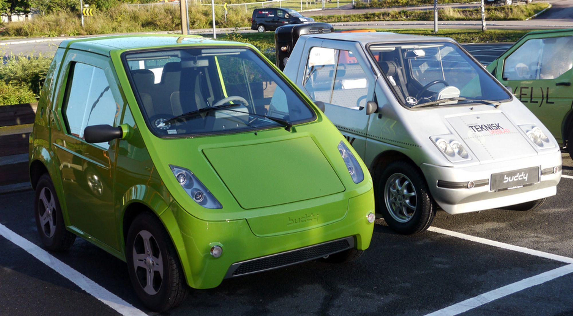 SLUTT: Samme dag som Regjeringen godkjenner EU´s Fornybardirektiv, så kan den norske elbilprodusenten Pure Mobility som produserer Buddy bli avviklet.