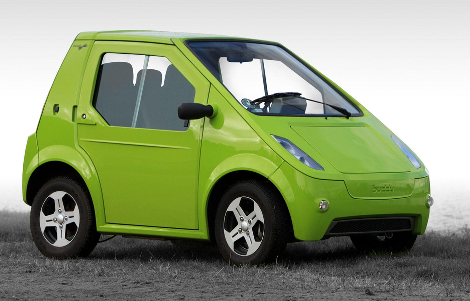 NY SJANSE? Buddys opprinnelige gründer, Jan Petter Skram, skal ha stått i spissen for å sikre videre norsk eierskap av den lille elbilen.