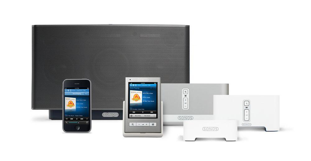 MANGE MULIGHETER: Det finnes flere muligheter for deg som vil sende musikk trådløst rundt i huset. Sonos er en av dem.
