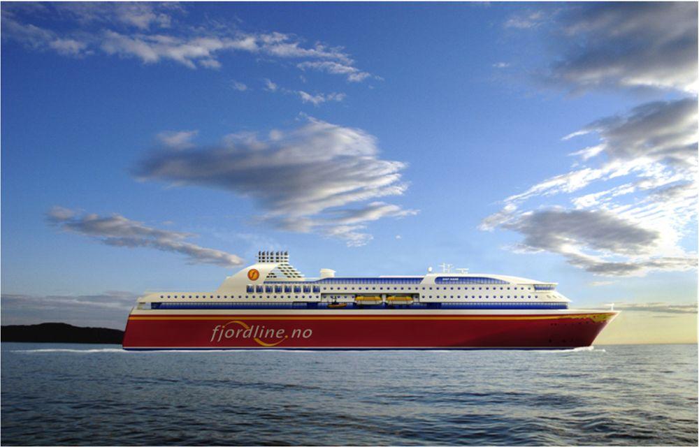 Fjord Line cruiseferger ferjer  Bestilt mars 2010 fra Bergen group Fosen. Lengde: 170 meter. Hvert skip vil romme ca 300 lugarer, hvorav en stor andel suiter, og ha plass til ca 1.500 passasjerer. Lastedekkene har kapasitet på inntil 600 personbiler.