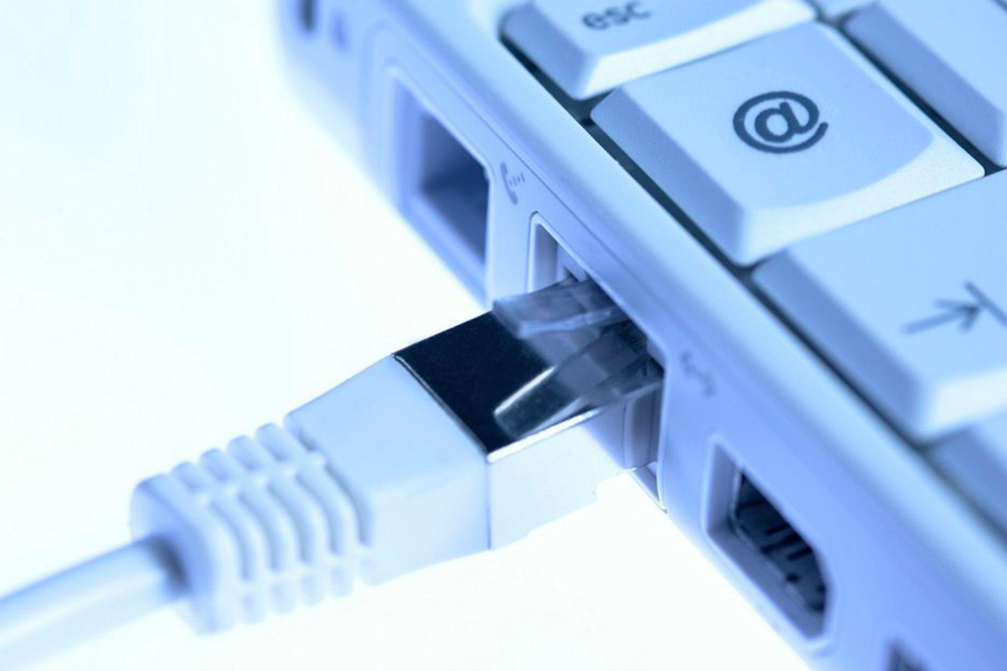 Et gjennomsnittlig norsk bredbåndsabonnement har i dag en nedlastingshastighet på 5,9 Mbit\s. Raskest nett har de i Rogaland.