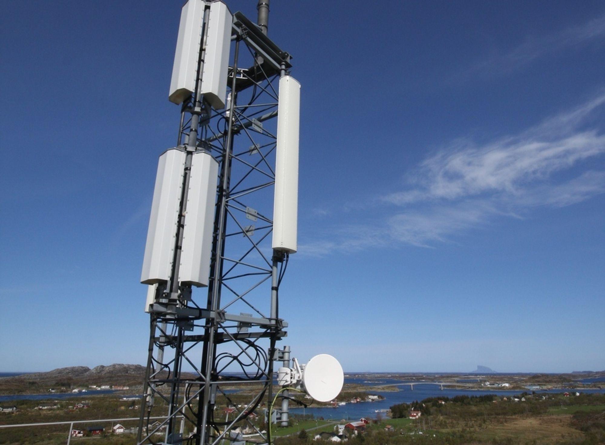 BRUDD: Sms- og samtaletjenestene til Netcom ble rammet av feilen i en Oslo-sentral.
