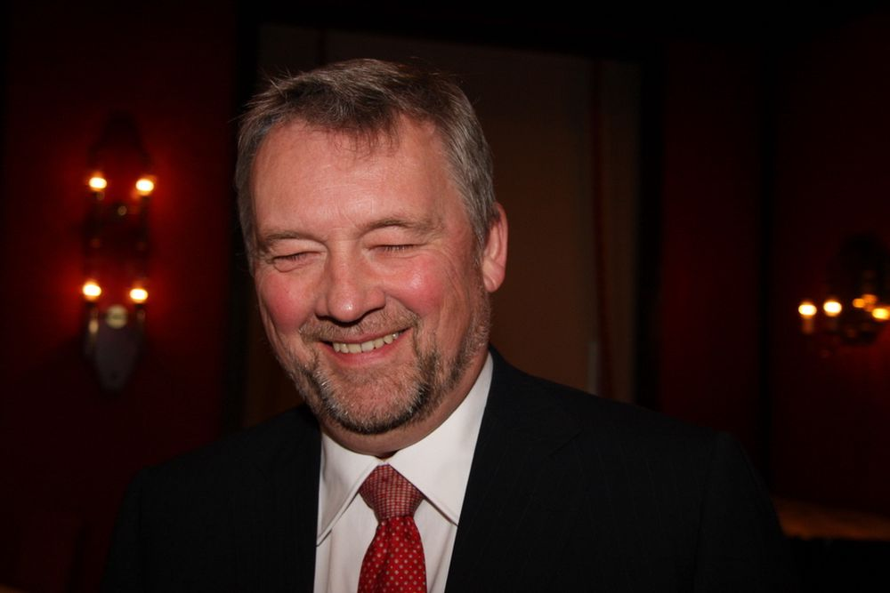 PRESIDENT: Thor Jørgen Guttormsen fra Leif Höegh & Co overtok presidentvervet i Rederiforbundet fra Elisabeth Grieg.