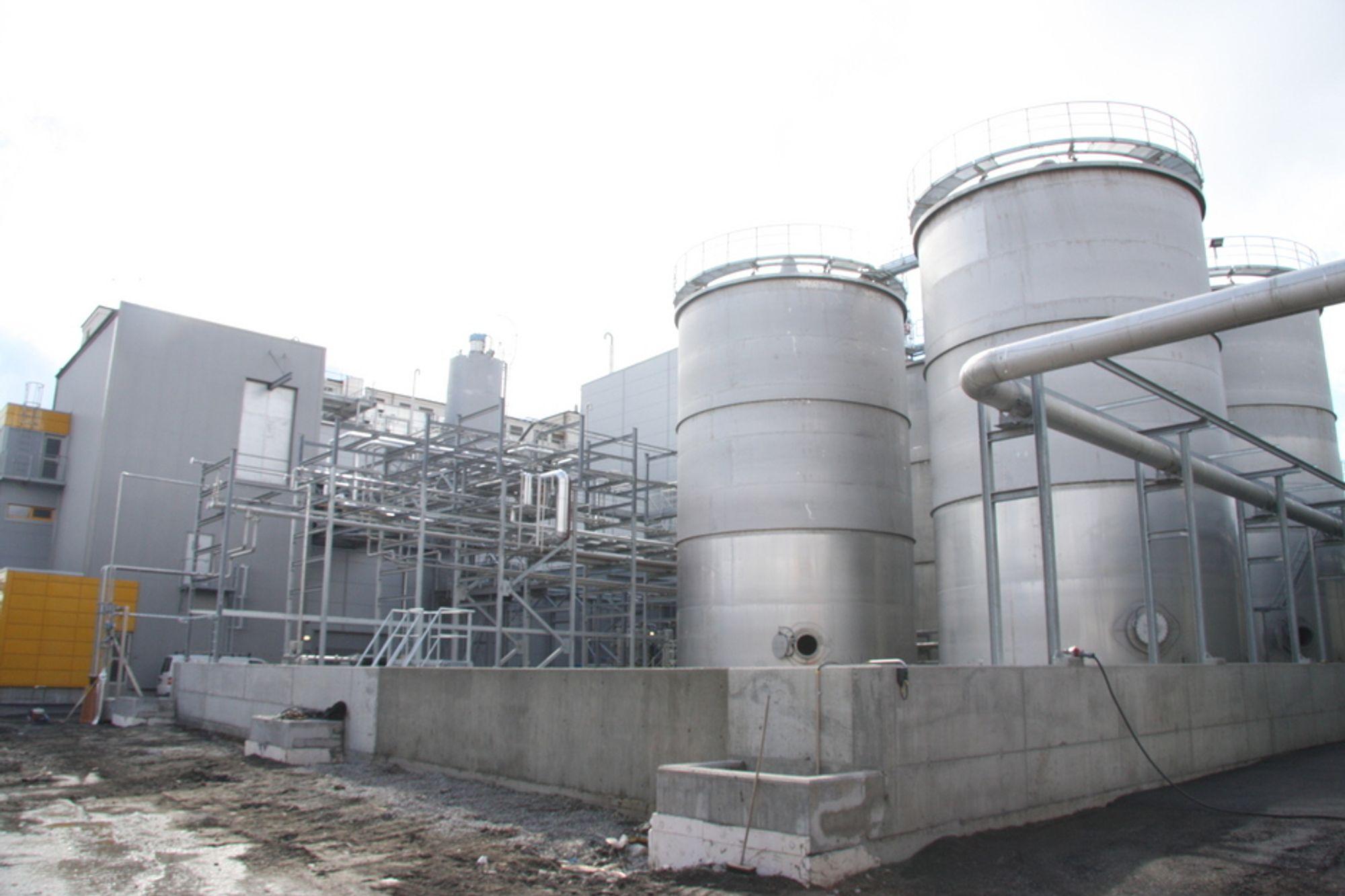 Uniol biodieselanlegg, Fredrikstad