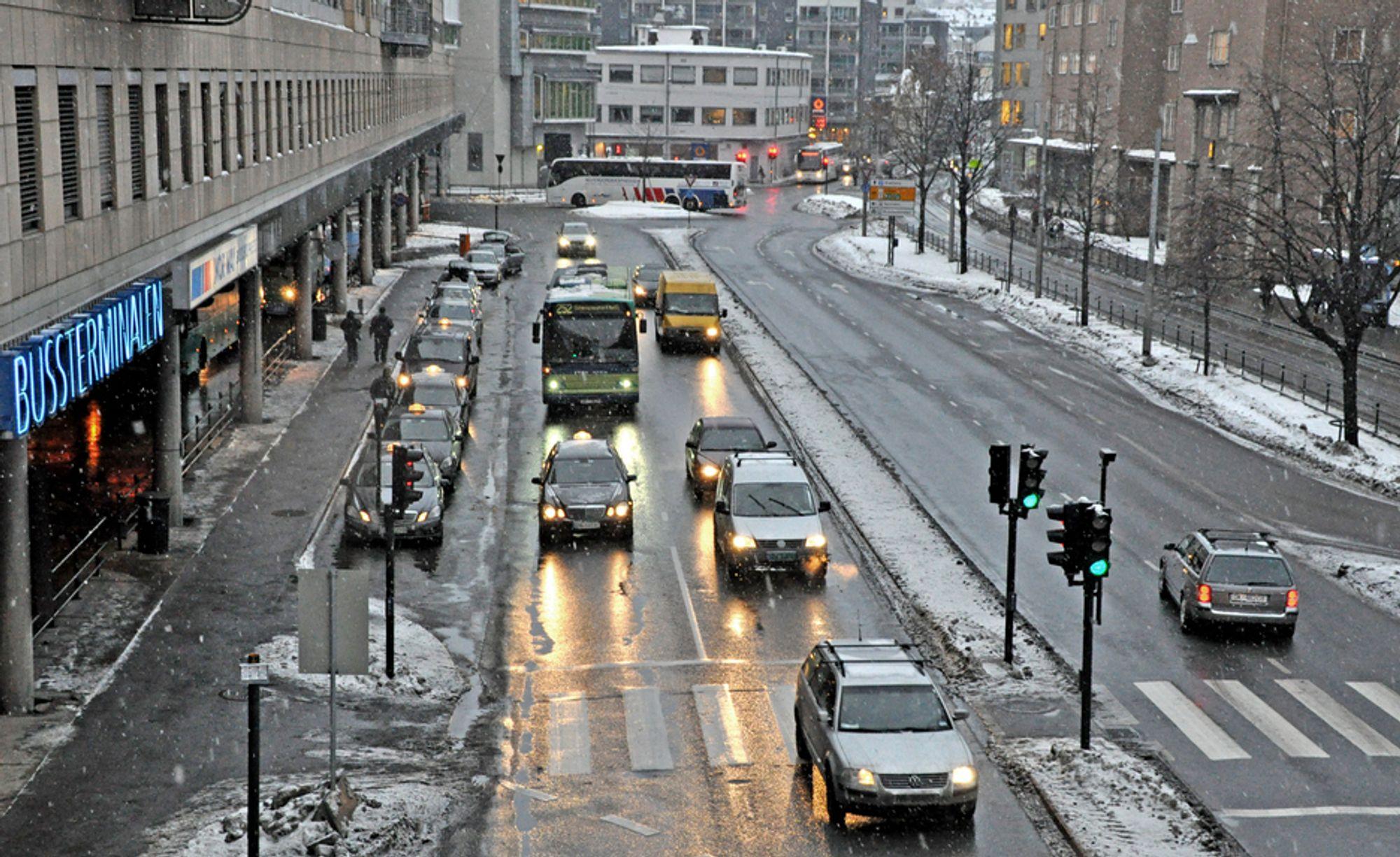 Aktiv Veidrift fra Lier ligger godt an til å få jobben med å oppgradere 400 meter av Schweigaards gate.