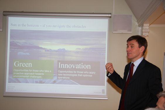 Tor E. Svensen - får fra 1. april ansvar for det sammeslåtte området Maritim og Energi i DNV.