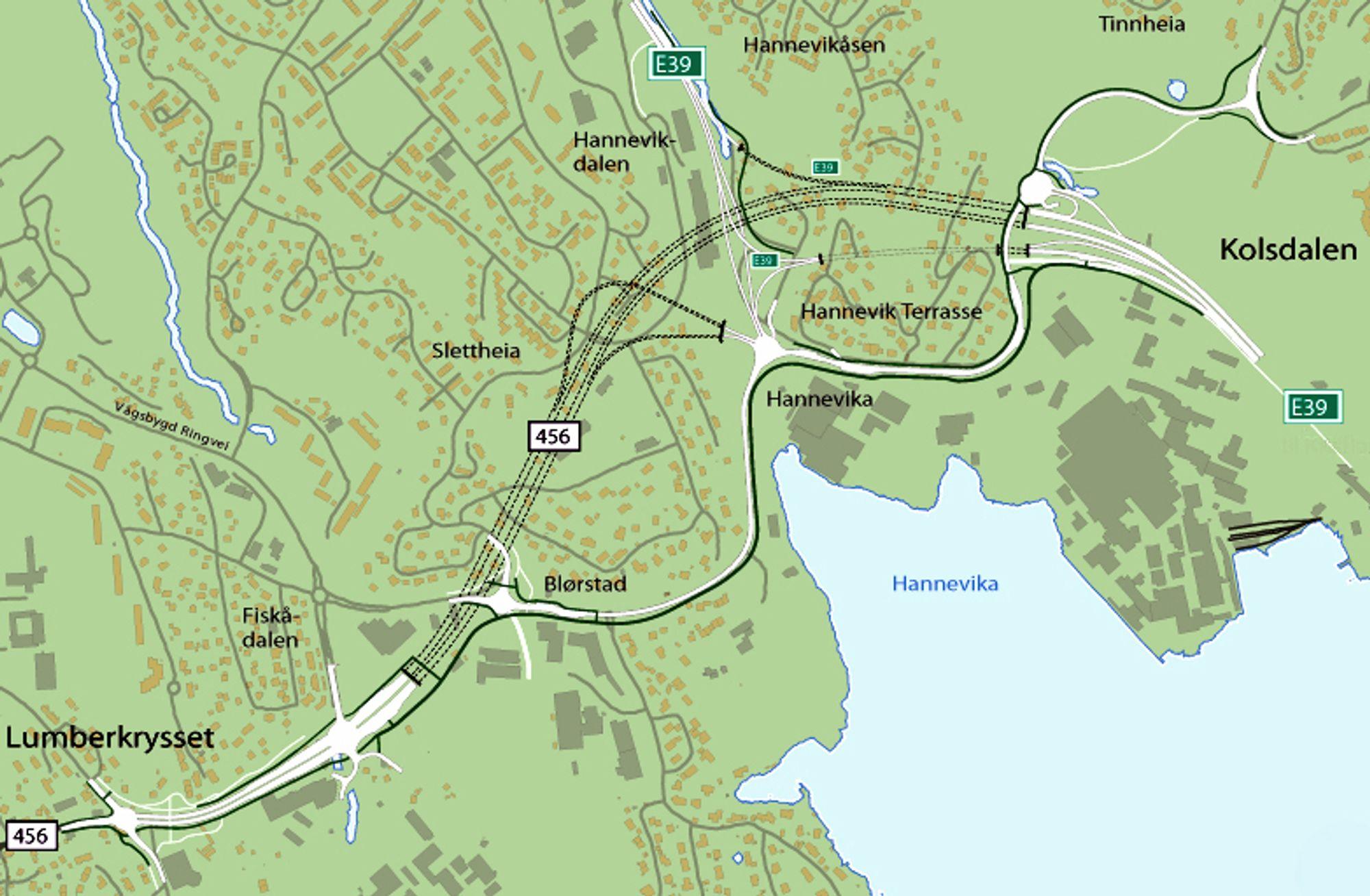 Et arbeidsfellesskap mellom NCC og Repstad Anlegg fra Søgne ligger svært godt an til å få kontrakten på utbygging av Vågsbygdvegen.