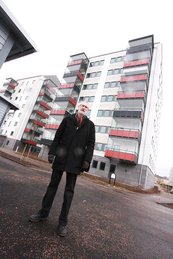 Växjö - Europas grønneste by. Passivhus åtte etasjer. Erik Hallonsten, prosjektleder Hyresbostäder i Växjö.