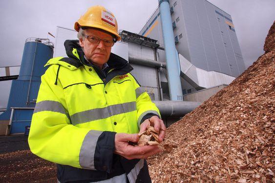 Växjö - Europas grønneste by. Lars Ehrlén forretningsområdessjef for kraft og varme, Växjö Energi AB, Veab
