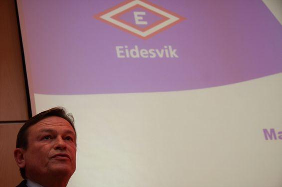 Jan Fredrik Meling, adm. dir. Eidesvik Ofshore. IRRITERT:  Jan Fredrik Meling, adm. dir. i Eidesvik Ofshore er frustrert over at regjeringen ikke tar tak i miljøutfordringen. Eidesvik har fire supplyskip på LNG og tester brenselcelle.