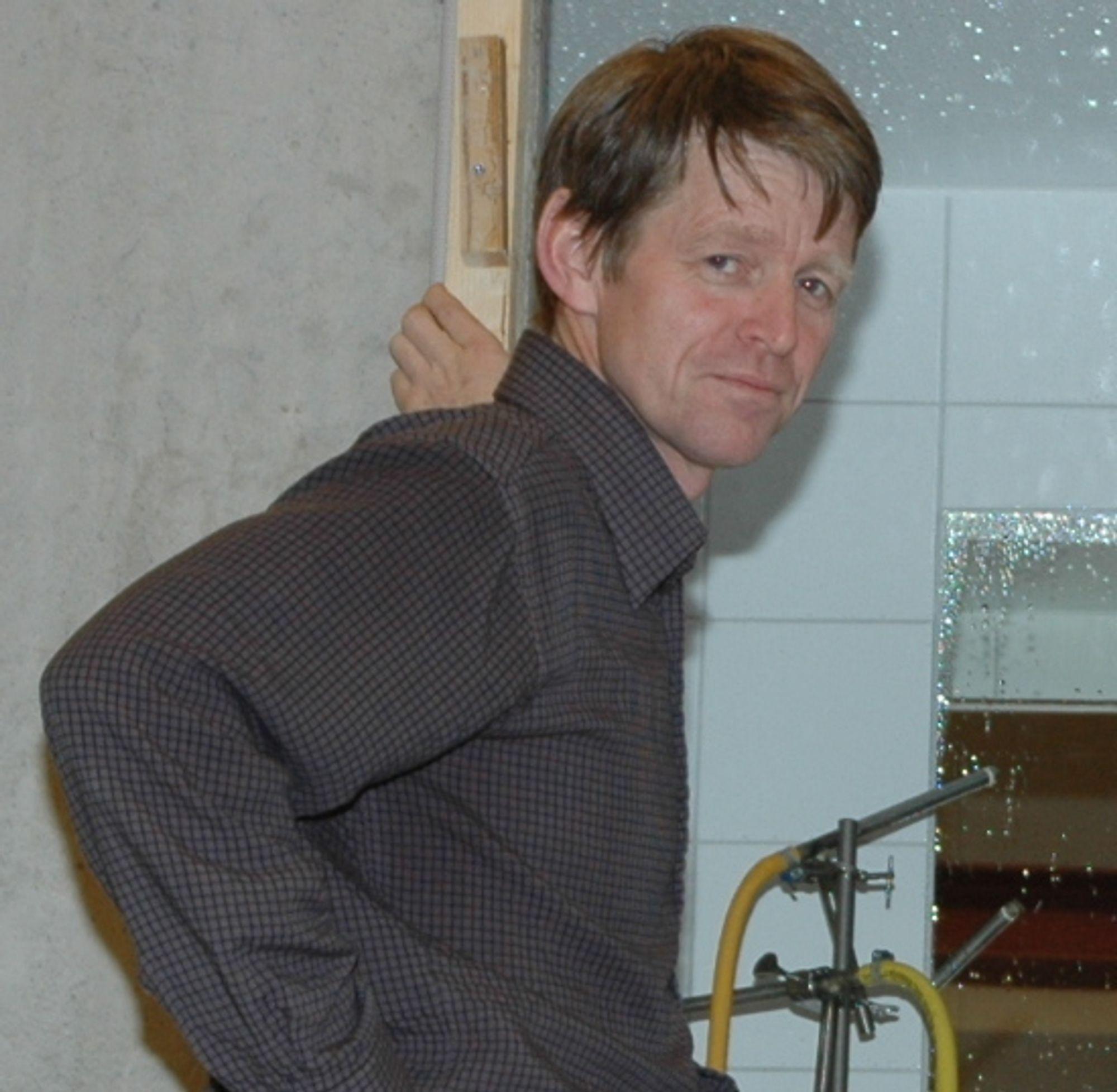 Forskningsleder Lars Erik Fiskum, sintef byggforsk
