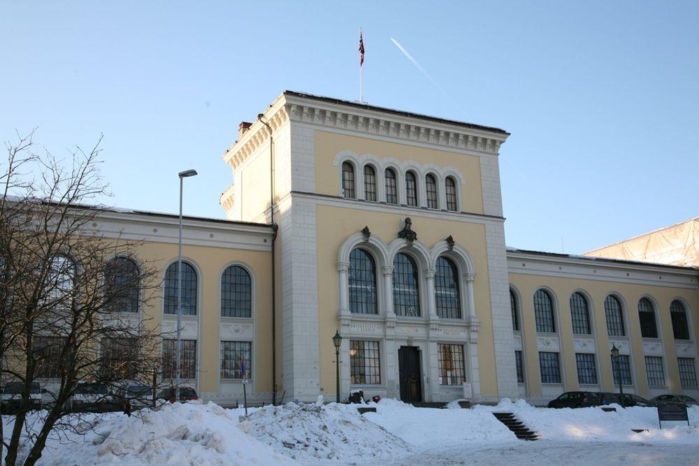 FÅ STRYKER: Universitetet i Bergen - her fra Muséplass - har fått mye skryt den siste tida.