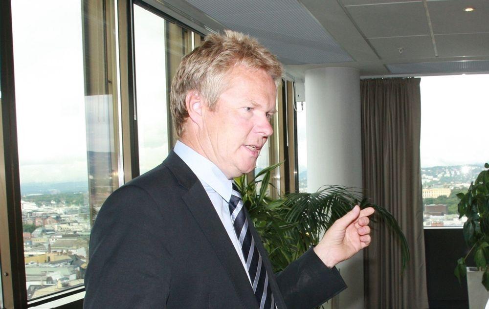 UVENTET: Ergo-sjef Terje Mjøs hadde ikke ventet at bedriftene var så forsiktige med å sette bort drift av sine it-systemer og -tjenester i økonmisk vanskelige tider.