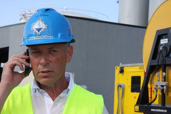 Daglig leder Jann Greger Winsents, Helgelandsbase Eiendom.