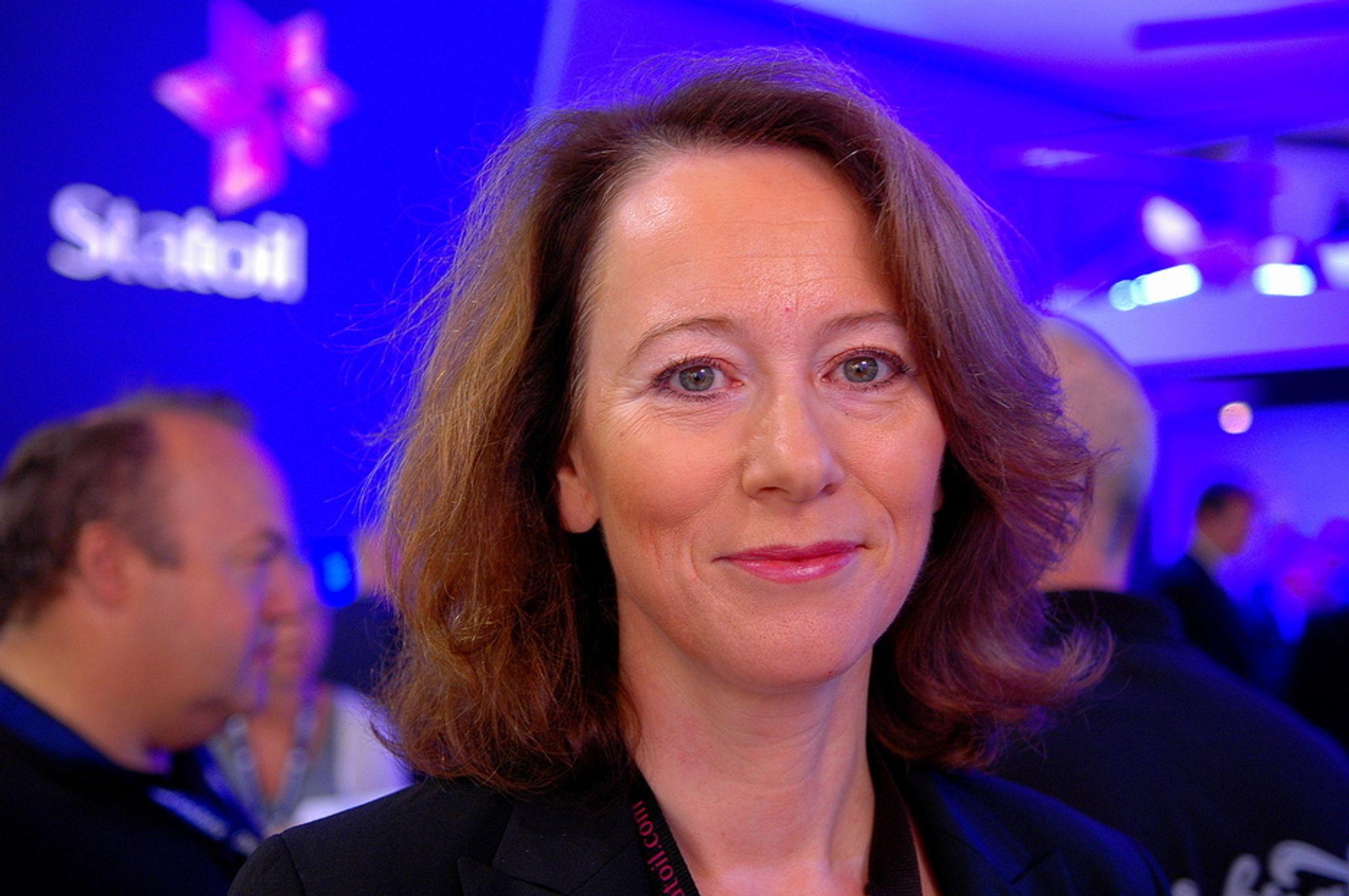 LANGSIKTIG: - Vi må tenke langsiktig skal vi få alle reservene i Snorre-området, sier Mona Nyland Berg i Statoil.