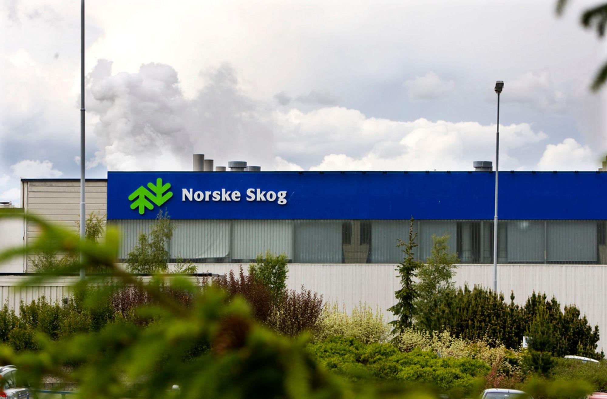 UTFORDRENDE: Resultatet før skatt endte på minus 1.176 millioner kroner. Norske Skog beskriver markedet videre som utfordrende.