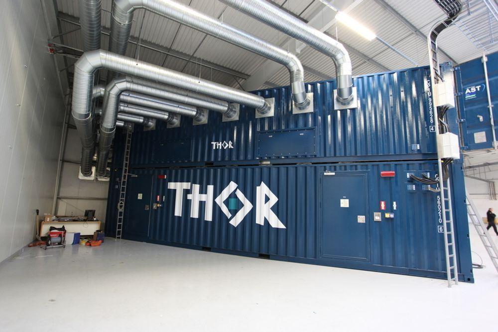 FELLES: Det nordiske samarbeidsprosjektet om felles datakraft ved Thor datasenter på Island skal sjekke om det er rimeligere å drive sammen enn hver for seg.