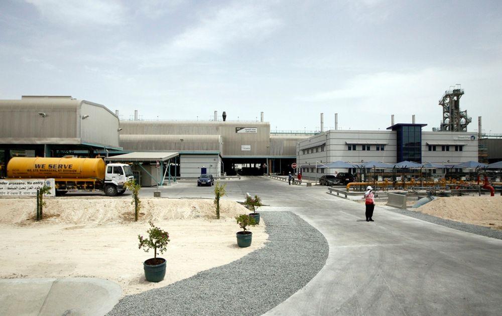 Hydros overtakelse av det brasilianske gruveselskapet Vale fører til at den norske stats eierandel går ned. Nå får departementet i oppdrag å kjøpe seg opp igjen. Her Hydros aluminiumsverk i Qatar.