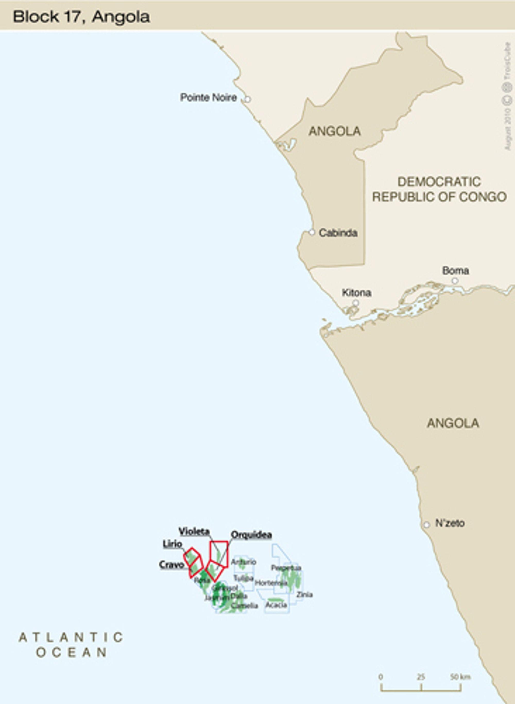 CLOV-prosjektet clov Angola Blokk 17