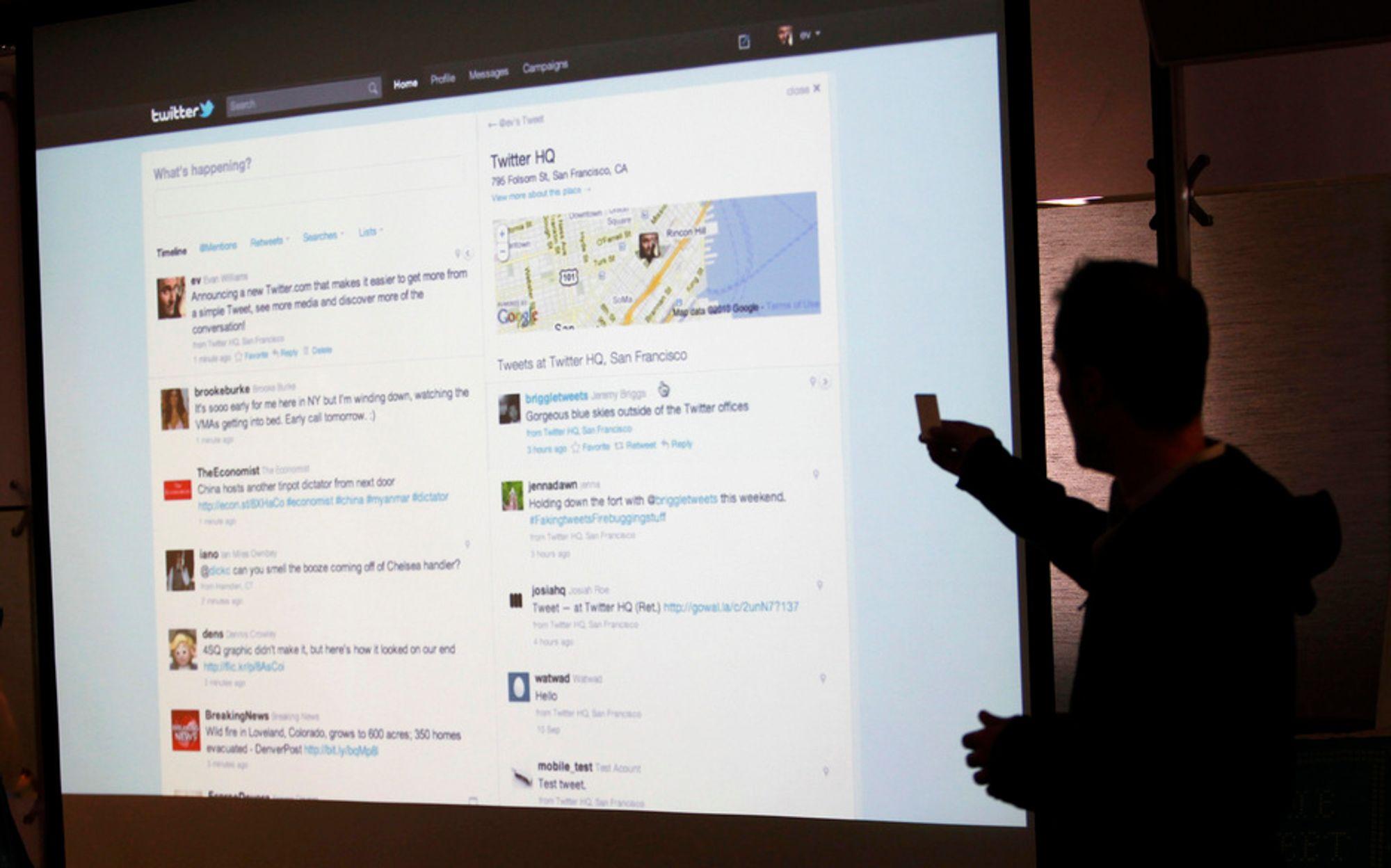 ANGREP: Mikrobloggen Twitter ble angrepet tirsdag. En norsk programmerer ved navn Magnus Holm hevder han sto bak, ifølge en blogg tilknyttet New York Times.