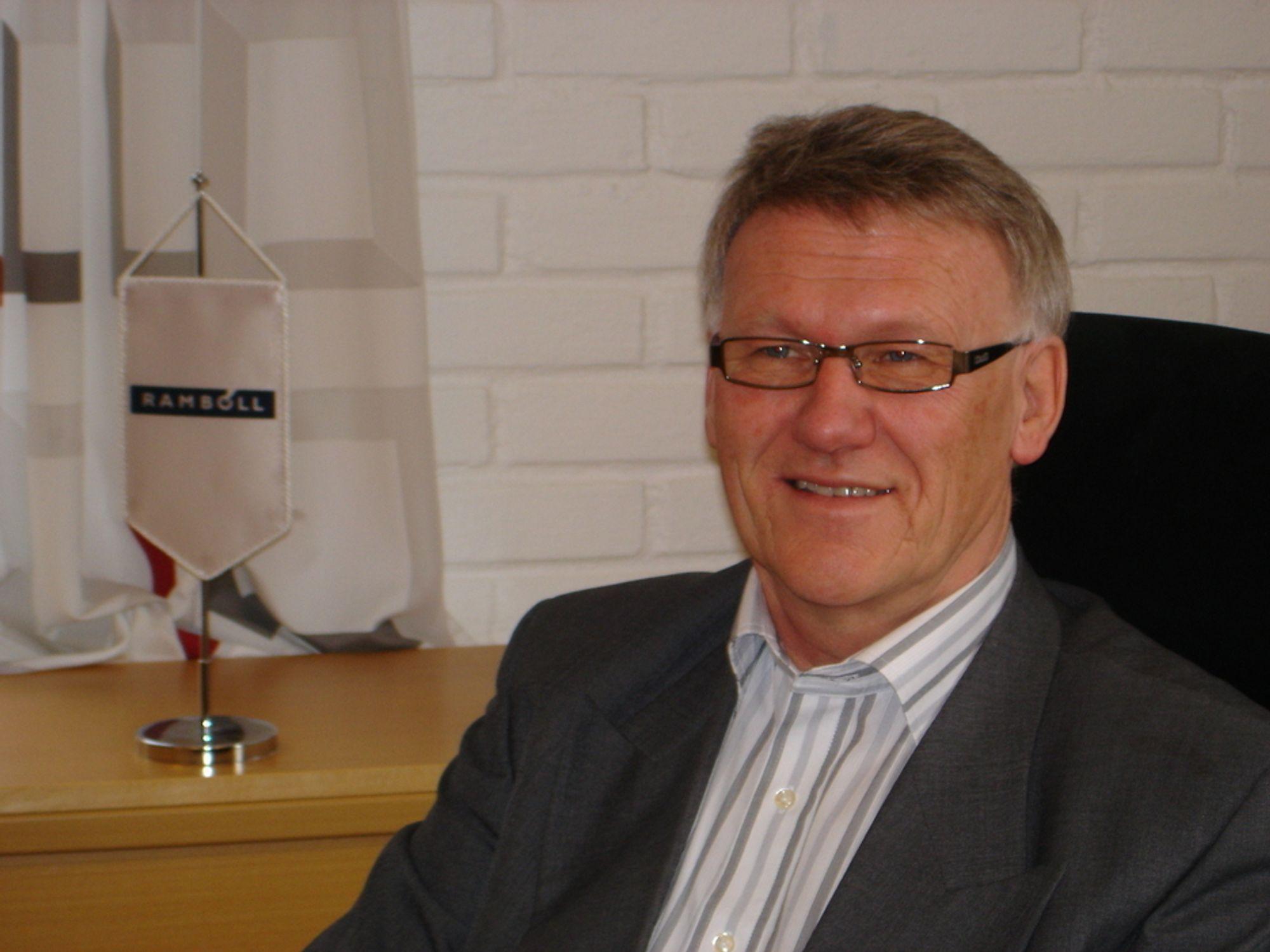 BYTTER BEITE: Administrerende direktør i Rambøll Norge, Jan Ove Holmen, blir ny toppleder i Steen & Strøm.