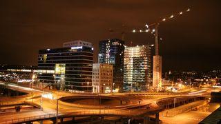 BILDESERIE: Natt i Oslo