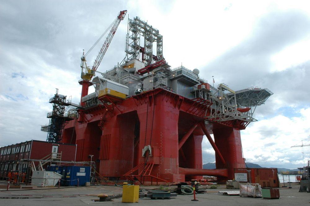 Riggen Aker Barents fant ingen petroleum av betydning i BG Norges letebrønn i Norskehavet.