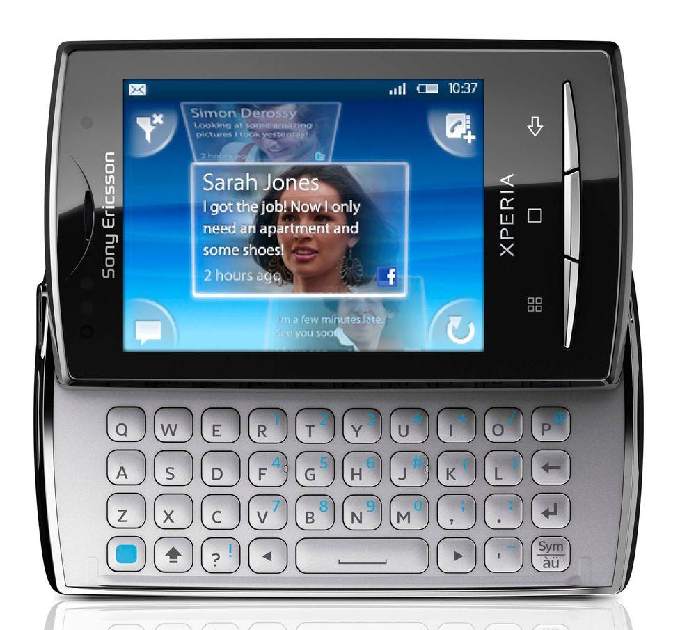 X10 Mini Pro er den tredje varianten av X10. Nå har den fått fullt tastatur.
