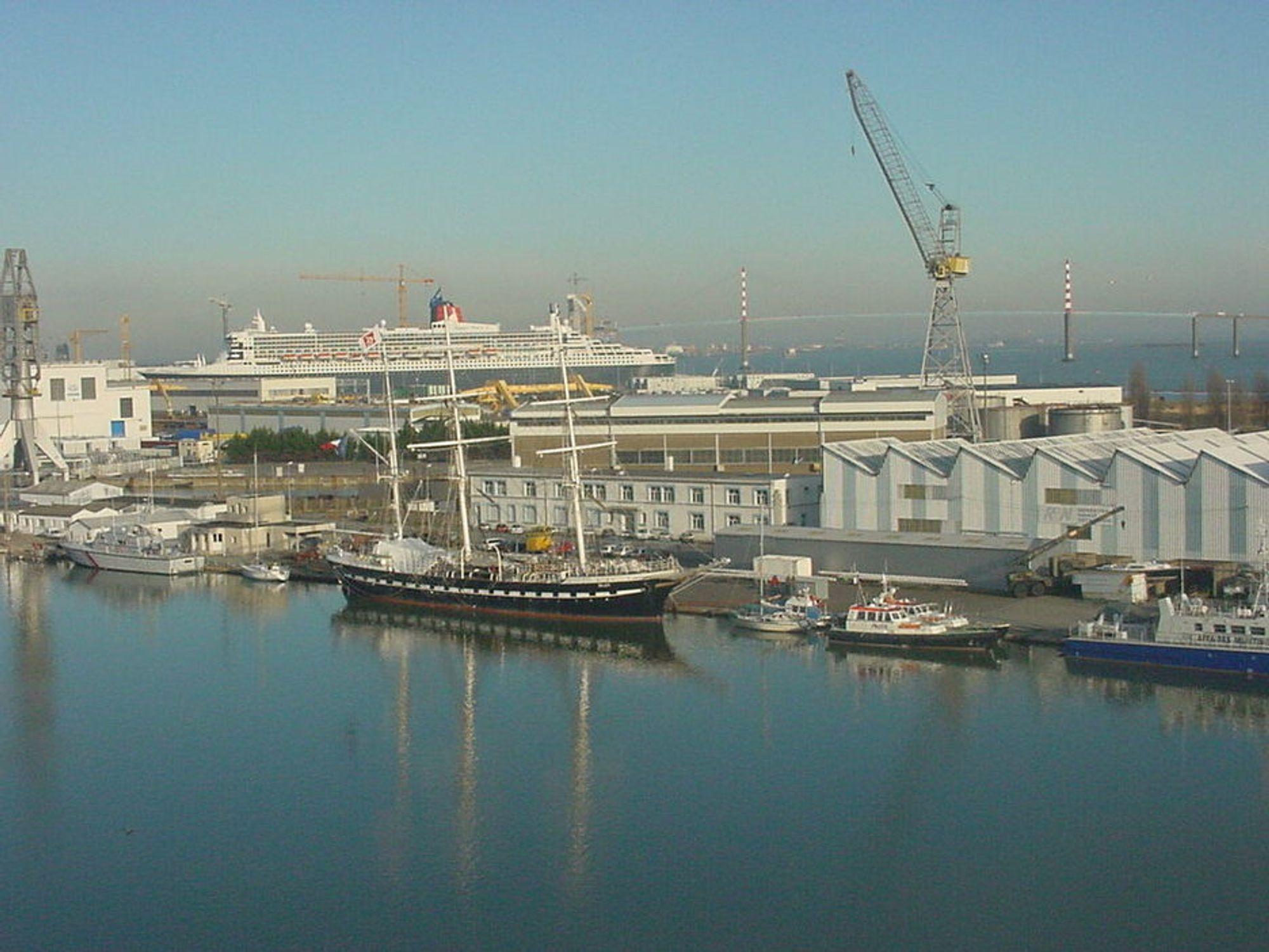 FRANKRIKE: STX Europe i Saint Nazaire skal bygge et cruiseskip på 333 meter for en ny kunde som vil inn på cruisemarkedet.