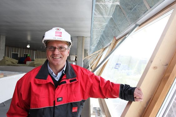Prosjektleder Heine Skogseid, Veidekke, Bellonabygget