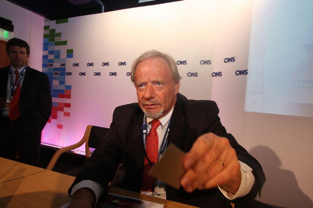 Norske Torstein Sannes har hatt  letesuksess med Lundin.