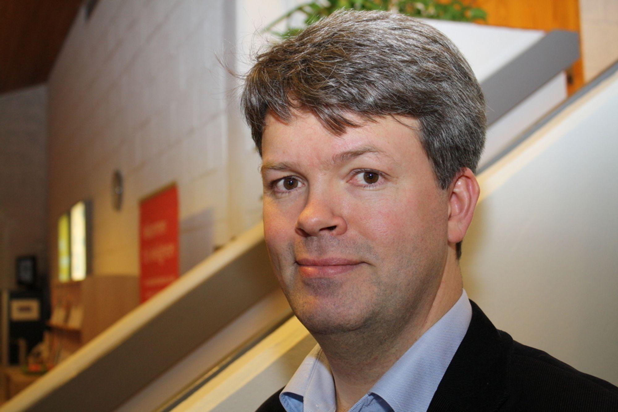 POSITIV: Audun Lågøyr i BNL har allerede startet arbeidet.