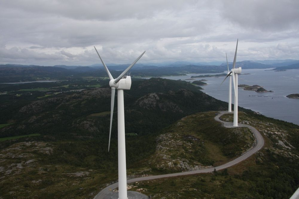 STØTTESTOPP: Det blir ingen støtte til vindkraft fra Enova i 2011