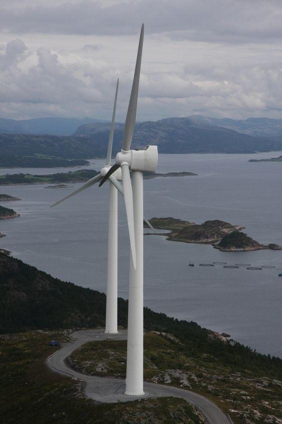 I Nord-Trøndelag Elektrisitetsverks vindpark på Hundhammerfjellet i Nærøy har ScanWinds teknologi blitt testet ut i mange år.