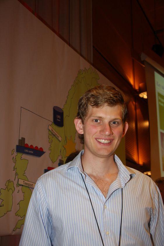 Jørgen Trømborg studerer fysikk ved Universitet i Oslo. I studentprosjektet hos DNV jobbet  han mest med logistikkspørsmål.