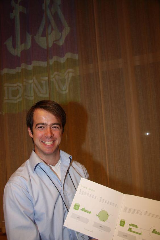 Torstein Skår, student i Marinteknikk ved NTNU, var en av 150 søkere til DNVs sommerprosjekt 2010. Han kan godt tenke seg en jobb i DNV etter endt studie.
