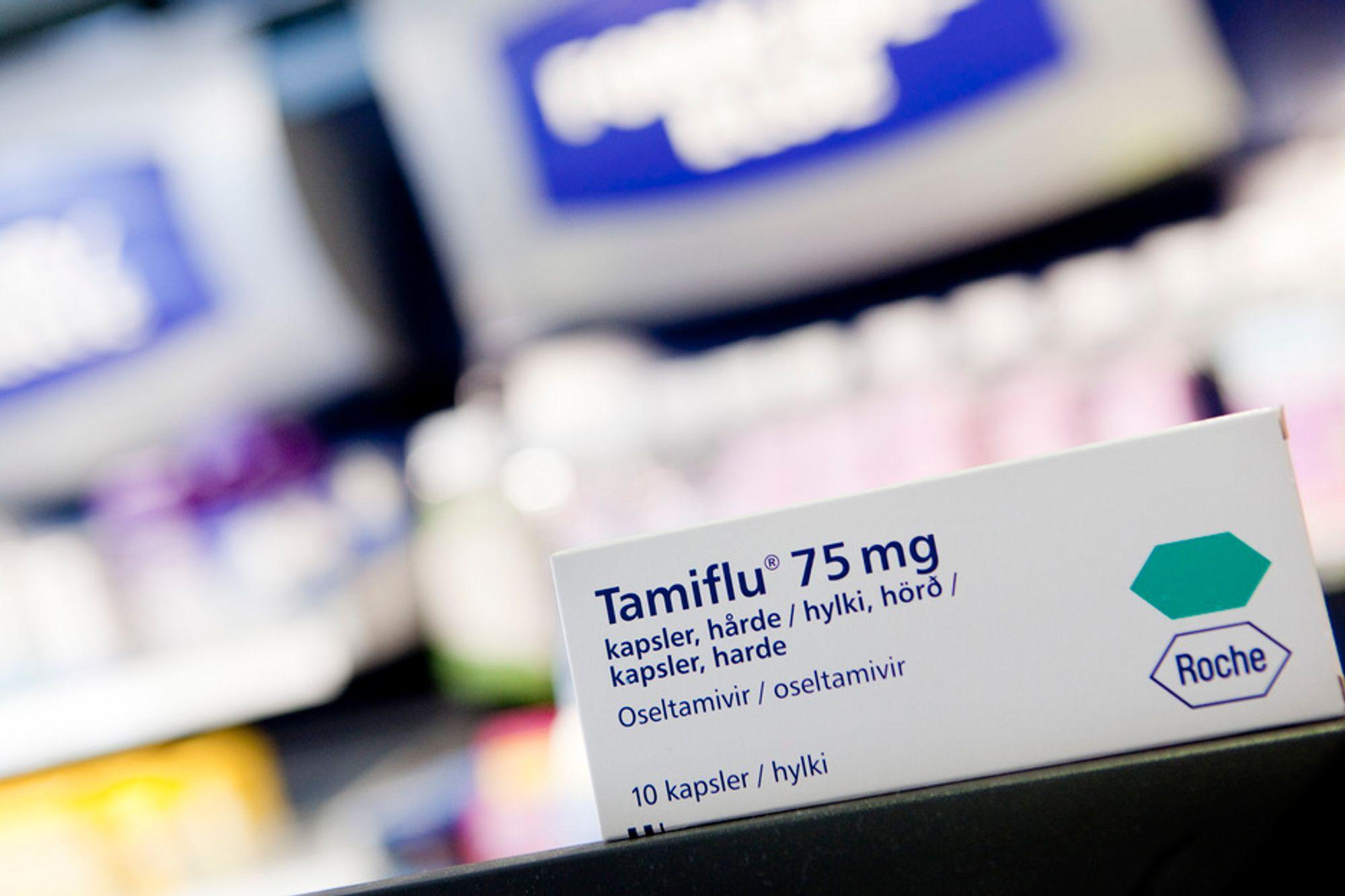 IKKE SELVFORSYNT: Norge valgte i 2004 ikke å satse på egenproduksjon av det antivirale preparatet Tamiflu.