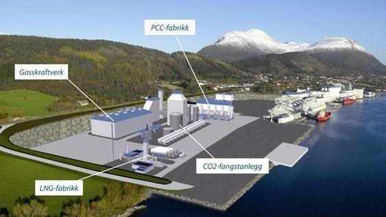 gasskraftverk elnesvågen illustrasjon industrikraft møre