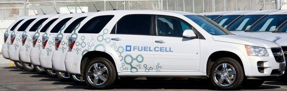 General Motors produserer i dag Chevrolet Equinox Fuel Cell. Men den er ikke til salgs på ordinær måte, den benyttes kun i demonstrasjonsprosjekter.