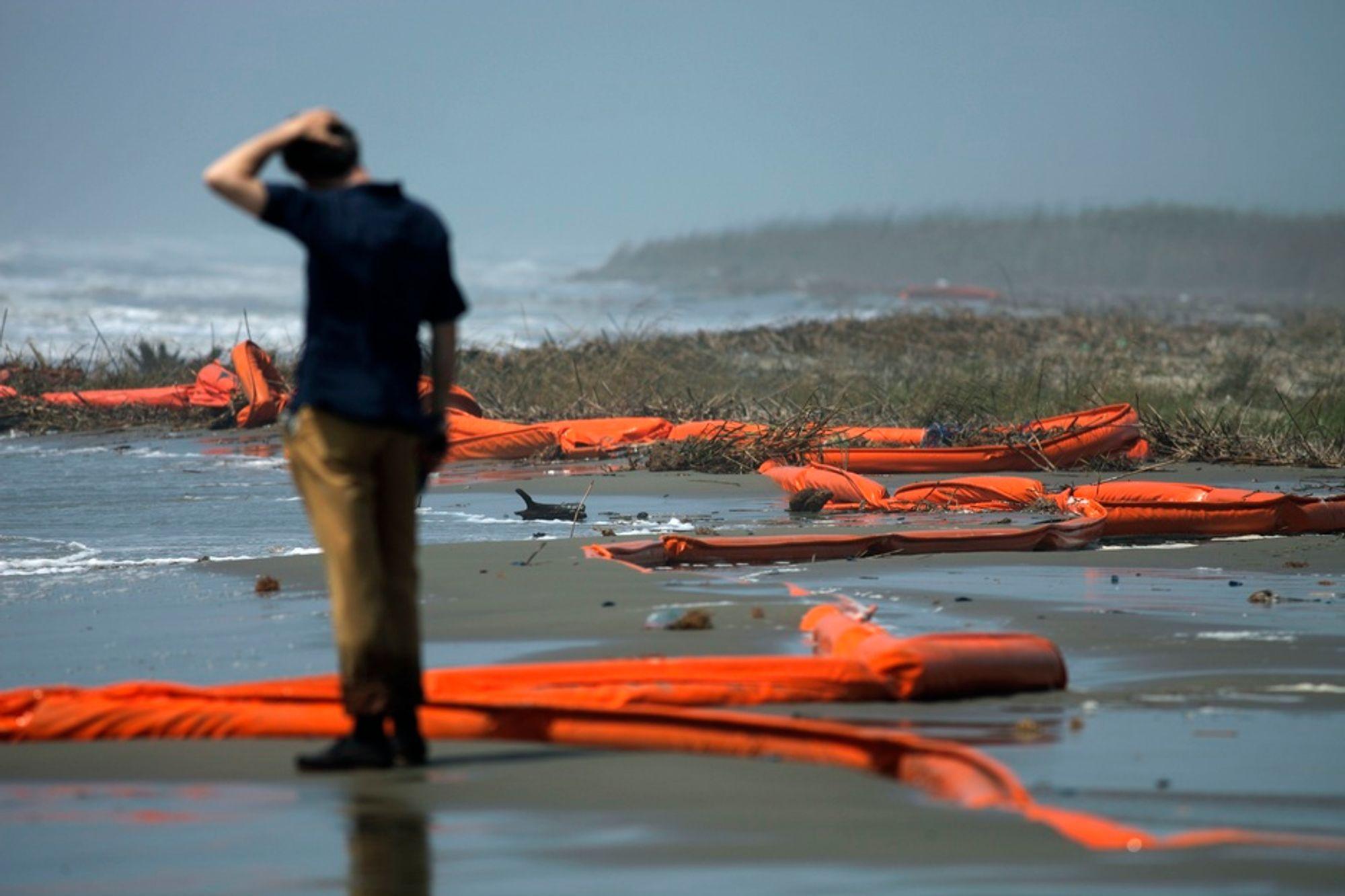 KONSEKVENSER: Direktøren for havnemyndighetene i Port Fourchon, Chett Chiasson, frykter at boreforbudet vil få katastrofale konsekvenser for næringslivet i Louisiana.