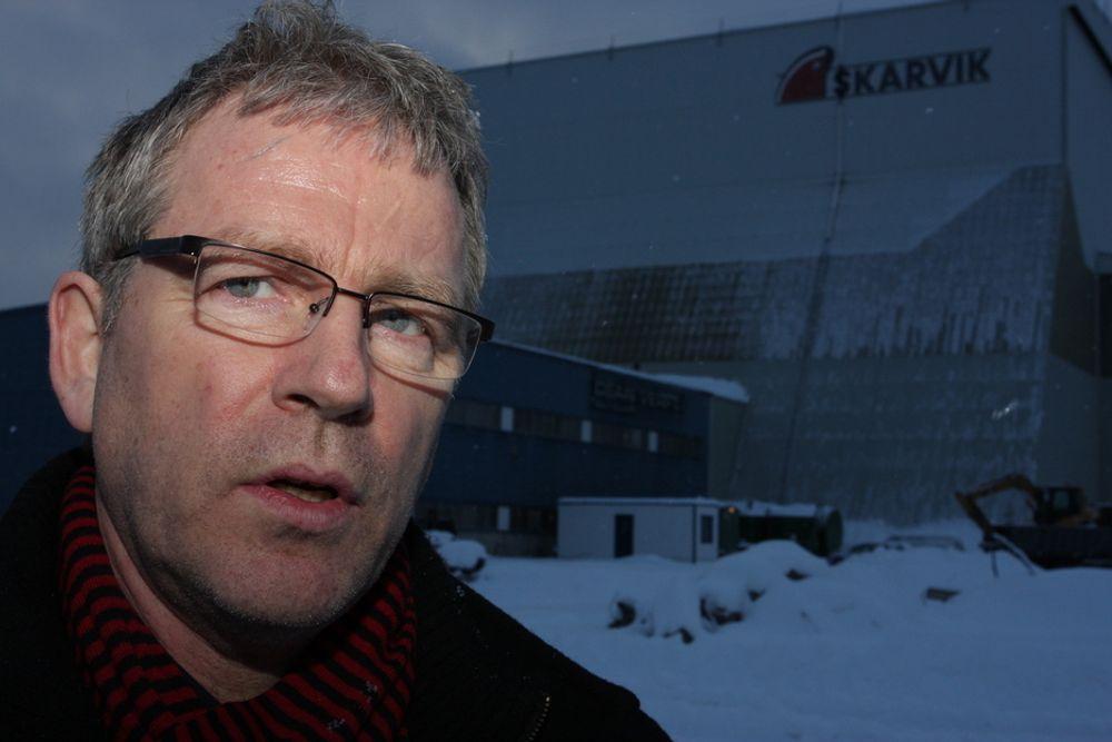 ADVARER MOT HESTEHANDEL: Ordfører Hugo Bjørnstad i Vågan kommune.