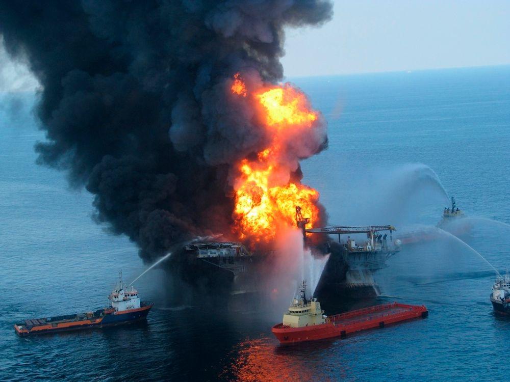 – Lekkasje fra oljeriggen uker før eksplosjonen