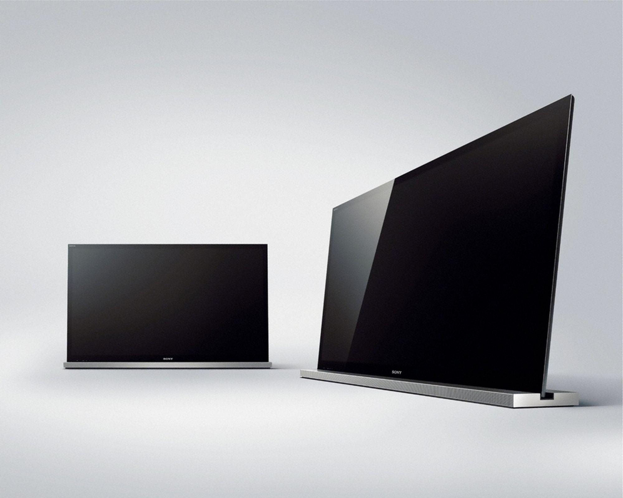 Sonys nye kant-LED-TV-er lar deg legge til 3D-støtte om du er villig til å betale for det.