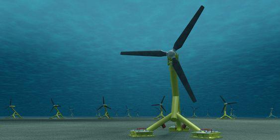 BØLGEKRAFT - HS 1000 Hammerfest strøm 1 mw tidevannsturbin ny